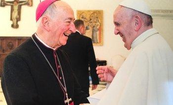 Archivo. Raúl Scarrone junto al Papa Francisco