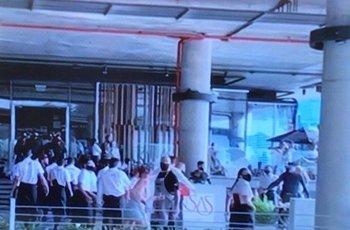 Al menos 20 personas protagonizaron la pelea en el restorán