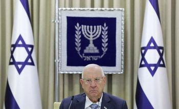 Reuven Rivlin, presidente de Israel