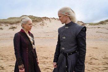 Dos de los protagonistas de House of the Dragon que se estrena en 2022