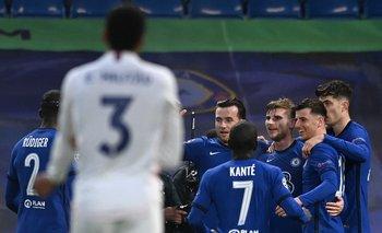 El festejo del gol de Timo Werner