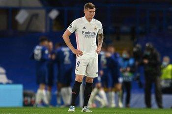 Toni Kroos, la imagen de un Real Madrid superado