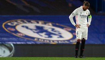 Sergio Ramos tras la eliminación en Stamford Bridge