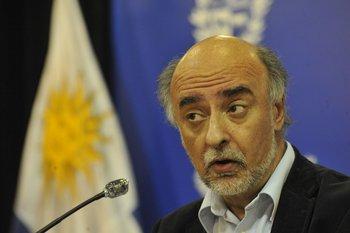 El ministro de Trabajo y Seguridad Social, Pablo Mieres.