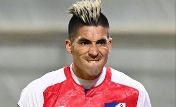 Leandro Fernández, el delantero que hace tándem con Bergessio en la ofensiva de Nacional