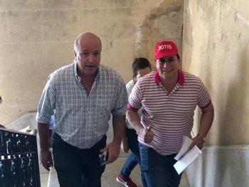 Germán Coutinho y Omar Estévez