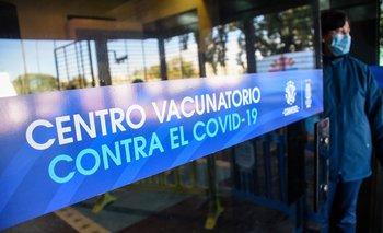 Vacunación contra el covid-19 en Montevideo
