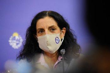 La ministra de Economía, Azucena Arbeleche.