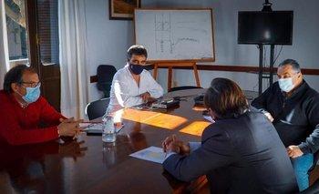 Lima, Sander, Vidalín y Falero se reunieron este jueves para acordar la distribución de los jornales