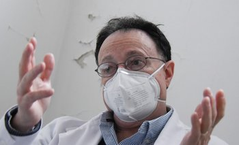 Manuel Alcalde es el director del Departamento de Salud Mental del Casmu