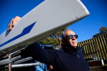 Osvaldo Borchi impulsa el remo uruguayo