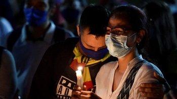 Los muertos en choques entre fuerzas de seguridad y manifestantes enlutaron a Colombia.