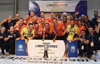 Carlos Barbosa de Brasil, el vigente campeón de la Libertadores