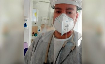 BBC Antonio Nirta es médico de urgencias.