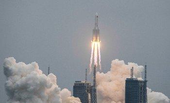 El cohete chino se desintegró y sus restos cayeron cerca de Maldivas