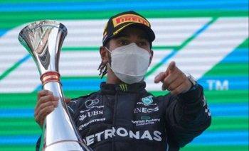 Lewis Hamilton y un nuevo podio para su historial