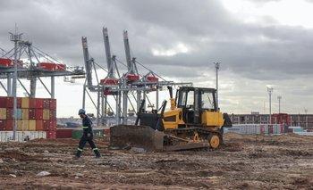 Comienzo de las obras en el Puerto de Montevideo