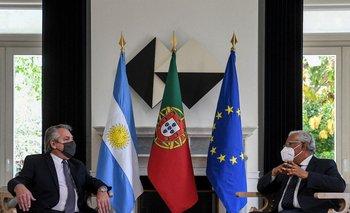 Alberto Fernandez se reunió con su par portugués