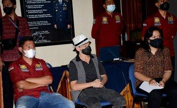 Christopher Kyle Martin, ciudadano canadiense deportado de la isla de Bali (Indonesia)