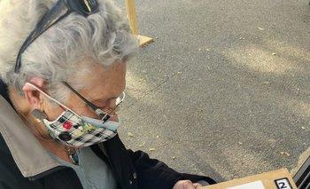 La primera vez que la abuela llenó el consentimiento informado, en el Batallón de Infantería 1.