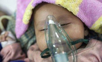 Cerca de 1,4 millones de niños fallecen cada año a causa de la neumonía, la principal causa de muerte en menores de 5 años en el mundo.