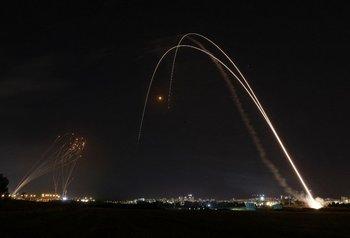 La Cúpula de Hierro es utilizada por Israel para destruir misiles