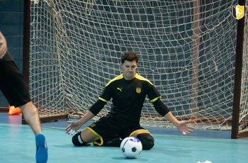 Entrenamiento de Peñarol para la Copa Libertadores 2021