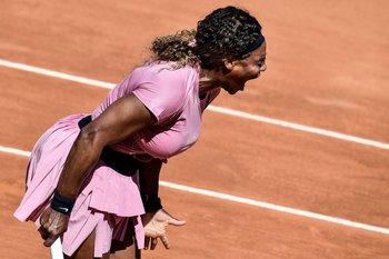 Serena Williams perdió en Roma ante la argentina Nadia Podoroska