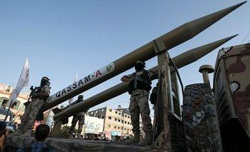 Hamás y otros grupos militantes palestinos tienen un amplio rango de misiles.