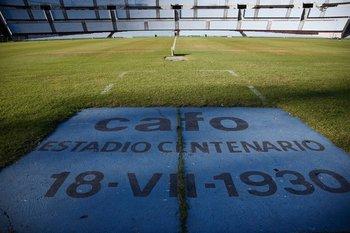 Así luce el piso del Centenario