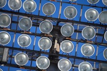 Los focos actuales serán cambiados por luces led de última generación