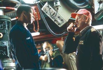 Escena de Marea roja, película de 1995