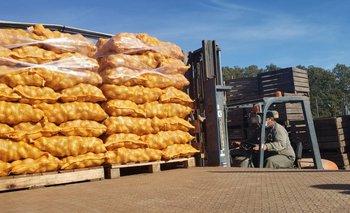 La semana próxima se abrirá una licitación para la compra de 45.000 kilos más de papa.