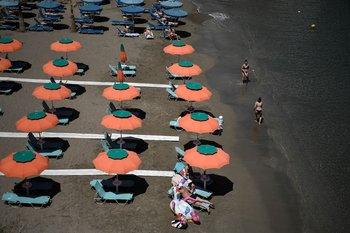 La playa Bali en la isla de Creta