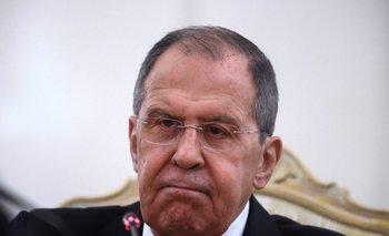 Ministro de Asuntos Exteriores ruso, Serguéi Lavrov