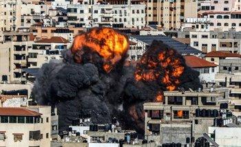 Una delegación egipcia está intentando lograr un alto el fuego en Gaza