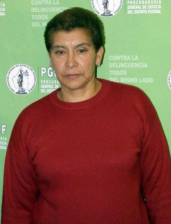"Juana Barraza, conocida como ""la mataviejitas""."