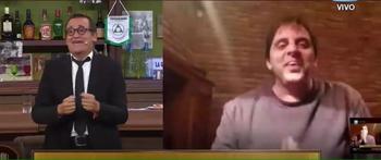 Álvaro Navia y Jorge Piñeyrúa en Polémica en el bar