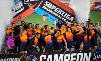 El festejo del campeón Jaguares