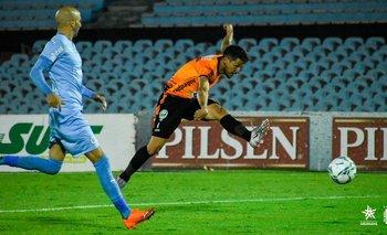 Pablo Olivera, dos goles en dos partidos de la IASA