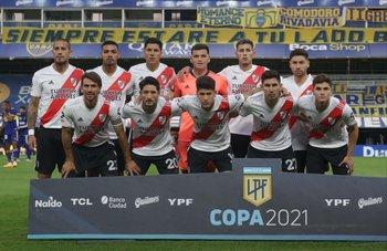 Un histórico equipo de River Plate