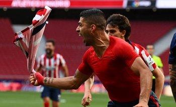 Suárez fue clave con un nuevo gol
