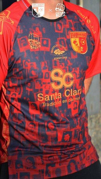 La camiseta de Villa Española por la Marcha de Silencio