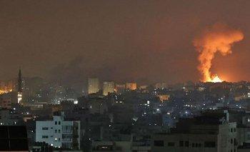 La escalada de ataques y contraataques continúa desde y hacia Gaza.