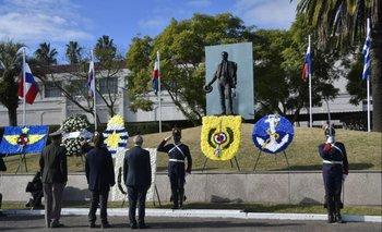 En la fecha en que se conmemora la Batalla de Las Piedras se celebra el Día del Ejército Nacional