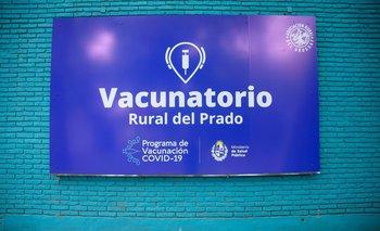 En la Rural del Prado funciona un autovacunatorio