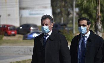 Salinas y Satdjian comparecen ante el Parlamento junto con Azucena Arbeleche