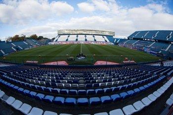 El Gran Parque Central, pronto para el fútbol