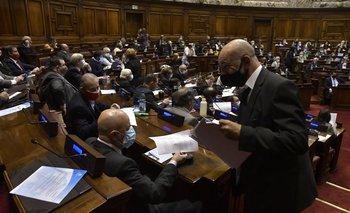 Tras positivos en Diputados, recomiendan aislamiento a quienes hayan participado de interpelación a Arbeleche