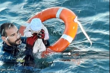 Guardia Civil encargado del rescate